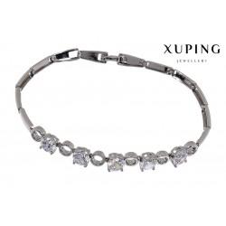 Bransoletka rodowana - Xuping - MF1272