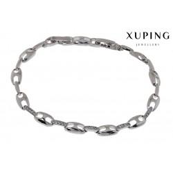 Bransoletka rodowana - Xuping - MF1274