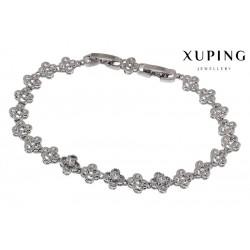 Bransoletka rodowana - Xuping - MF1276