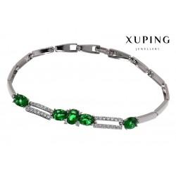 Bransoletka rodowana - Xuping - MF1457
