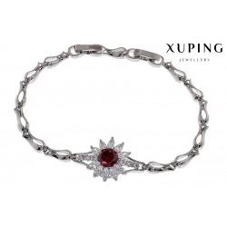 Bransoletka rodowana - Xuping - MF1460-1