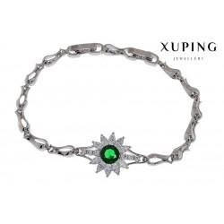 Bransoletka rodowana - Xuping - MF1460-2