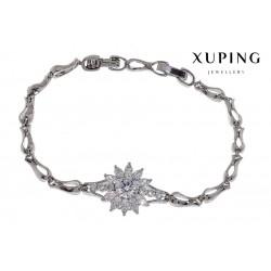 Bransoletka rodowana - Xuping - MF1460-3