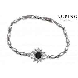 Bransoletka rodowana - Xuping - MF1460-4