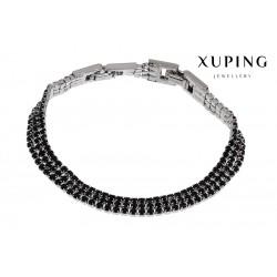 Bransoletka rodowana - Xuping - MF1462-1
