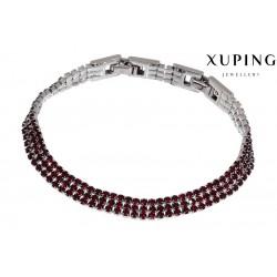 Bransoletka rodowana - Xuping - MF1462-2