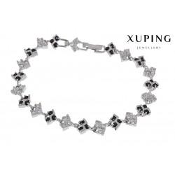 Bransoletka rodowana - Xuping - MF1463