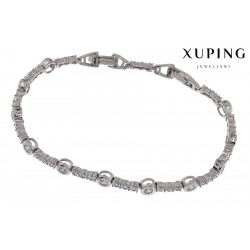 Bransoletka rodowana - Xuping - MF1465