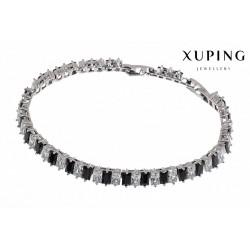 Bransoletka rodowana - Xuping - MF1466