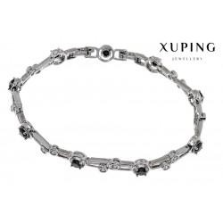 Bransoletka rodowana - Xuping - MF1470-1