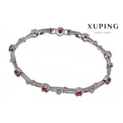 Bransoletka rodowana - Xuping - MF1470-2