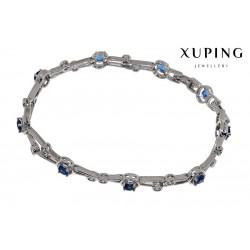 Bransoletka rodowana - Xuping - MF1470-3