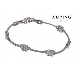 Bransoletka rodowana - Xuping - MF1471-2