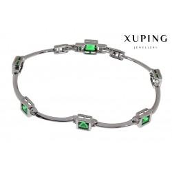 Bransoletka rodowana - Xuping - MF1471-3