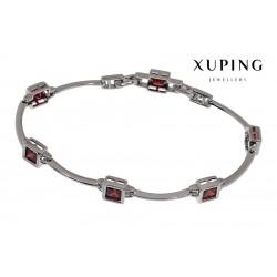 Bransoletka rodowana - Xuping - MF1471-4