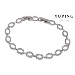 Bransoletka rodowana - Xuping - MF1474