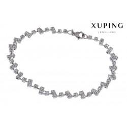Bransoletka rodowana - Xuping - MF1476