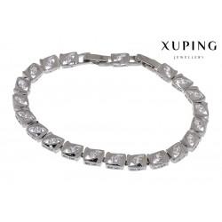 Bransoletka rodowana - Xuping - MF1477