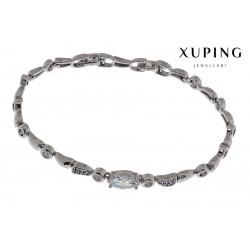 Bransoletka rodowana - Xuping - MF1478