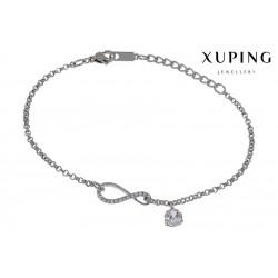 Bransoletka rodowana - Xuping - MF1483