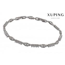 Bransoletka rodowana - Xuping - MF1485