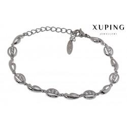 Bransoletka rodowana - Xuping - MF1486