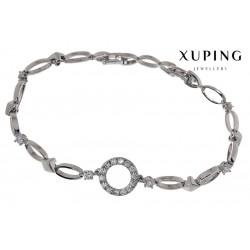 Bransoletka rodowana - Xuping - MF1488