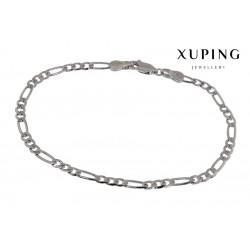 Bransoletka rodowana - Xuping - MF1490