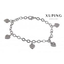 Bransoletka rodowana - Xuping - MF1491