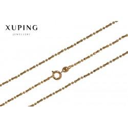 Łańcuszek pozłacany 18k Xuping - FM0950