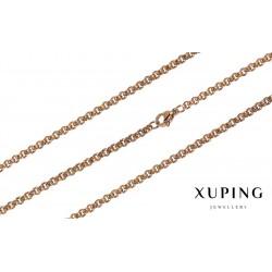 Łańcuszek pozłacany 18k Xuping - FM14305
