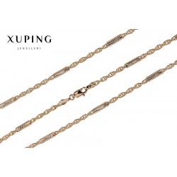 Łańcuszek pozłacany 18k Xuping - MF1501