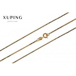 Łańcuszek pozłacany 18k Xuping - MF1517
