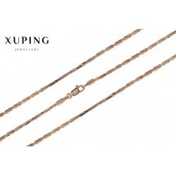 Łańcuszek pozłacany 18k Xuping - MF1522