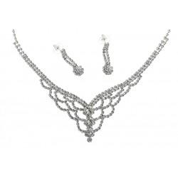 Komplet biżuterii dżetowy - MF1919A