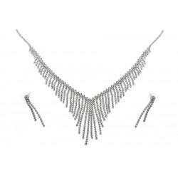 Komplet biżuterii dżetowy - MF1919B