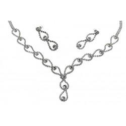 Komplet biżuterii dżetowy - MF1920A