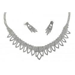 Komplet biżuterii dżetowy - MF1921B