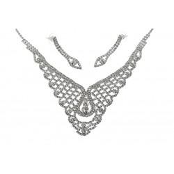 Komplet biżuterii dżetowy - MF1922A