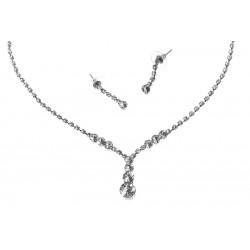 Komplet biżuterii dżetowy - MF2053-1