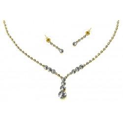 Komplet biżuterii dżetowy - MF2053-2