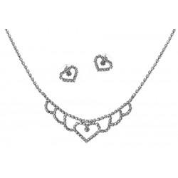 Komplet biżuterii dżetowy - MF2053-3