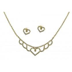 Komplet biżuterii dżetowy - MF2053-4