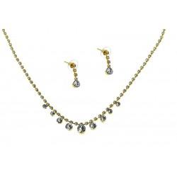 Komplet biżuterii dżetowy - MF2054-1