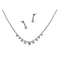 Komplet biżuterii dżetowy - MF2054-2