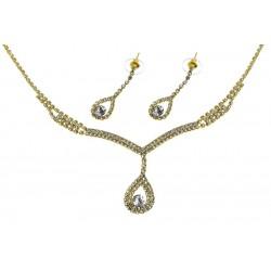 Komplet biżuterii dżetowy - MF2055-1