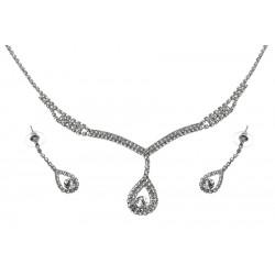 Komplet biżuterii dżetowy - MF2055-2