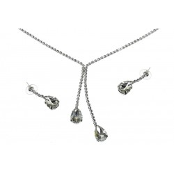 Komplet biżuterii dżetowy - MF2062