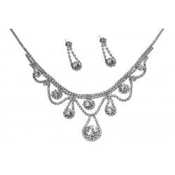 Komplet biżuterii dżetowy - MF2064-1