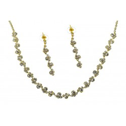 Komplet biżuterii dżetowy - MF2065-1
